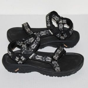 Teva 4176 Sport Sandals Women size 7  Hazel Black